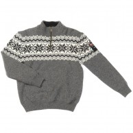 Typhoon Drammen, knitted sweater, dark grey