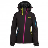 Kilpi Asimetrix-W, ski jacket, women, black