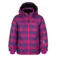 Kilpi Genovesa JG, ski jacket, kids, violet print