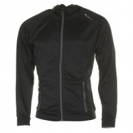 Cairn Bassia M, mid layer, men, Black Graphite