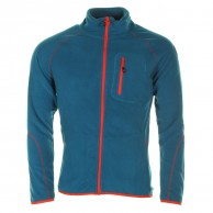 Cairn Lerie M, fleece jacket, men, Pacific Scarlet