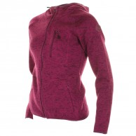 Cairn Roselend W, fleece jacket, women, Cranberry