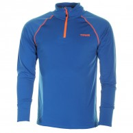Typhoon Wengen mens underwear shirt, electric blue