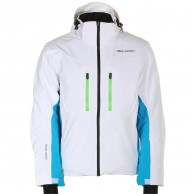 DIEL Bruce mens ski jacket, white