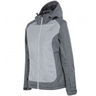 4F Debbie, ski jacket, women, light grey
