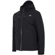 4F Robert, ski jacket, men, black
