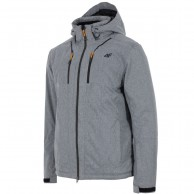 4F Robert, ski jacket, men, light grey