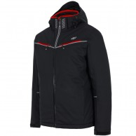 4F Roland, ski jacket, men, black
