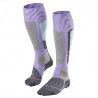 Falke SK1 ski socks, women, lavender