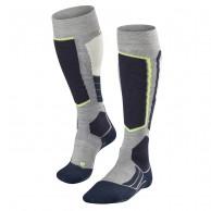Falke SK2 Wool ski socks, grey