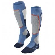 Falke SK2 Wool ski socks, blue