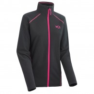 Kari Traa Kari fleece F/Z skipullie, dark grey