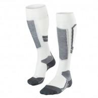 Falke SK4 Wool ski socks, women, white