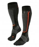 Falke SB 2 mens snowboard socks, women, blackmix