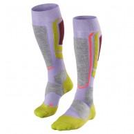 Falke SB 2 mens snowboard socks, women, lavender