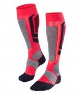 Falke SB 2 mens snowboard socks, women, rose