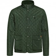 Weather Report Fraser, quilted jacket, mens, green