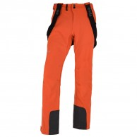 Kilpi Rhea-M mens soft shell ski pant, orange