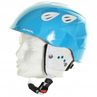 Alpina Grap 2.0 JR, Ski Helmet, blue/white