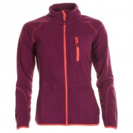 Cairn Lerie W, fleece jacket, women, Cranberry Coral