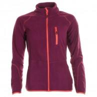 Cairn Lerie W, fleece jacket, women, Cranberry Coral