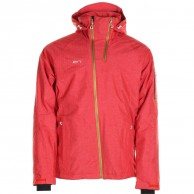 2117 of Sweden Borkan, ski jacket, men, red