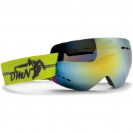 Demon Gravity ski goggle, yellow