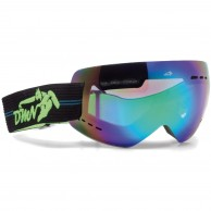 Demon Gravity ski goggle, green