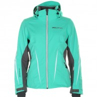 DIEL Bianka ski jacket, women, green