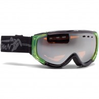 Demon Matrix Polarized ski goggle, black/green