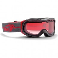 Demon Divine ski goggles, grey/red