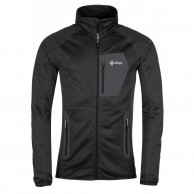 Kilpi Eris, fleece jacket, mens, black