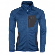 Kilpi Eris, fleece jacket, mens, blue