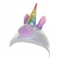 CrazeeHeads helmet cover, Sparky The Unicorn