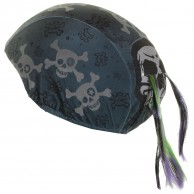 CrazeeHeads helmet cover, Skullz N Bones