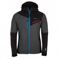 Kilpi Zenith softshell jacket, men, dark grey