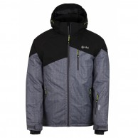 Kilpi Oliver, ski jacket, men, dark grey