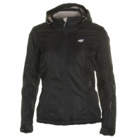 4F ski jacket, women, black