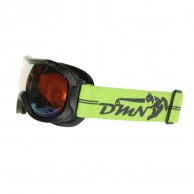 Demon Magic junior ski goggle, black/yellow