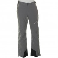 DIEL Bart mens ski pants, grey melange