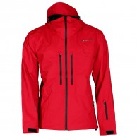 DIEL Aron hard shell jacket, red