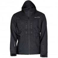 DIEL Aron hard shell jacket, black