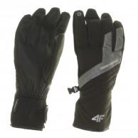 4F Inner Tech ski gloves, black
