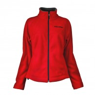 DIEL Micro fleece jacket, women, red