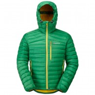 Montane Featherlite Mens Down Jacket, green