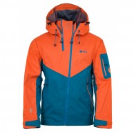 Kilpi Metrix ski jacket, men, blue/orange