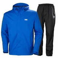 Helly Hansen Portland, Rain Suit, men, blue