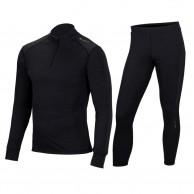 Cairn Comfort Zip 180, base layer set, men, black