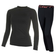 Cairn Warm 180, base layer set, women, Black