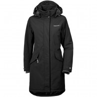 Didriksons Alba womens coat, black